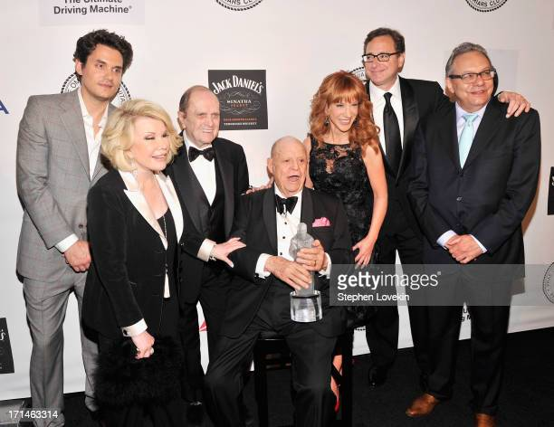 John Mayer Joan Rivers Bob Newhart Don Rickles Kathy Griffin Bob Saget and Lewis Black attend The Friars Foundation Annual Applause Award Gala...