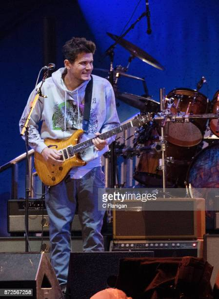 John Mayer of Dead and Company performs during the Band Together Bay Area Benefit Concert at ATT Park on November 9 2017 in San Francisco California
