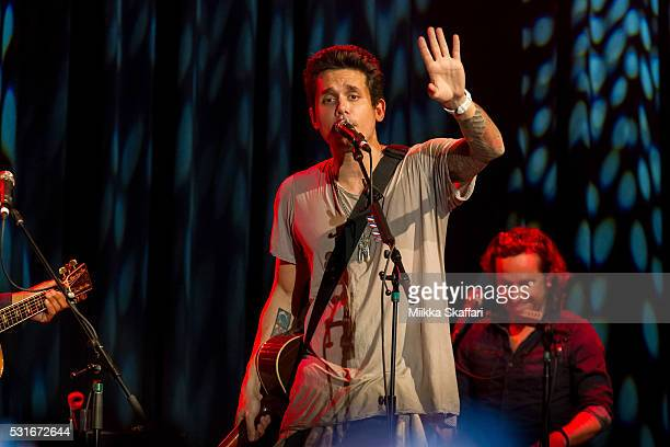 John Mayer performs at 3rd annual Acoustic4aCure benefit concert at The Fillmore on May 15 2016 in San Francisco California