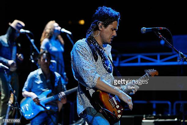 John Mayer performs at Red Rocks Amphitheatre on July 16 2013 in Morrison Colorado