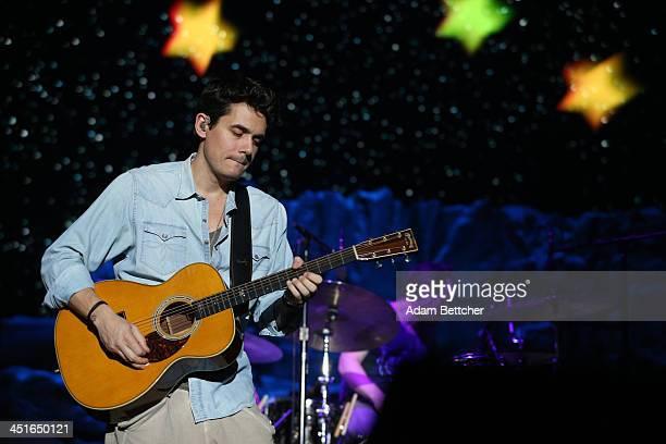John Mayer performs at Target Center on November 23 2013 in Minneapolis Minnesota