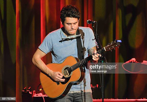 John Mayer performs at the 3rd Annual Acoustic4ACure concert a Benefit for the Pediatric Cancer Program at UCSF Benioff Children's Hospital at The...