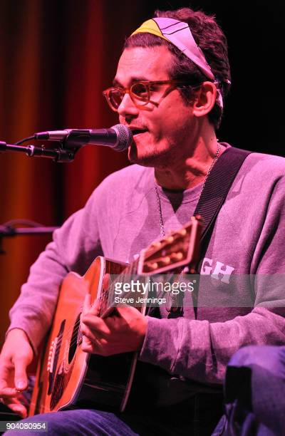 John Mayer performs at the Alice 973 Radio concert Alice In Winterland at The Masonic Auditorium on January 11 2018 in San Francisco California