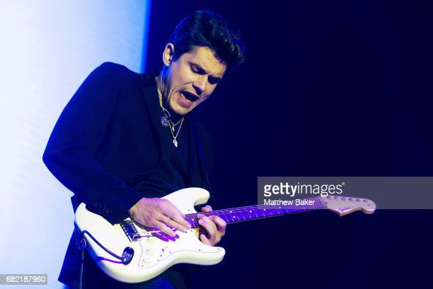 John Mayer performs at The O2 Arena on May 11 2017 in London England