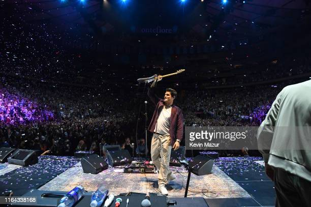 John Mayer performs onstage at Madison Square Garden on July 25, 2019 in New York City.
