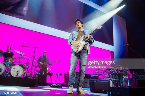 John Mayer performs onstage at The O2 Arena on October 13, 2019 in London, England.