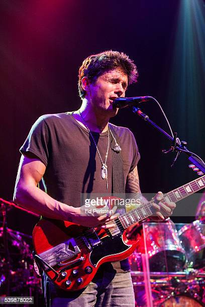 John Mayer performs with Dead and Company at The Fillmore on May 23 2016 in San Francisco California
