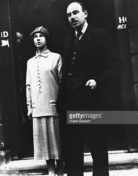 John Maynard Keynes, British economist and pioneer of the full employment theory, marries Lydia Lopokova, 1925.