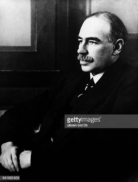John Maynard Keynes*05.06.1883-+Economist, politician, mathematician, Great BritainPortrait- undated