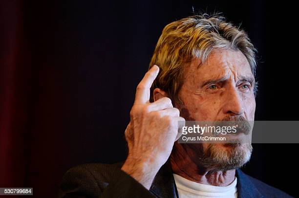 John McAfee founder of McAfee anti virus/security software was the keynote speaker for the 10th anniversary Rocky Mountain Information Security...