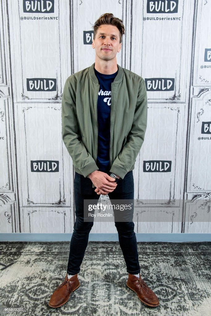 John McCarthy discusses 'Love & Bananas' with the Build Series at Build Studio on April 26, 2018 in New York City.