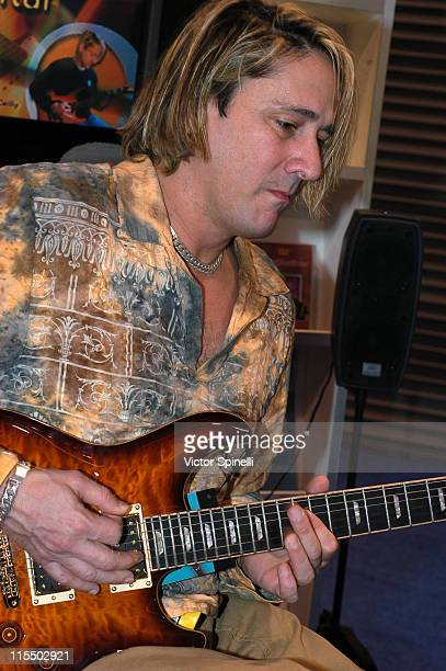 John McCarthy during 2005 NAMM Music Conference at Anaheim Convention Center in Anaheim California United States