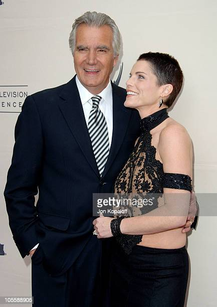 John McCook and Lesli Kay during The 33rd Annual Daytime Creative Arts Emmy Awards in Los Angeles Arrivals at The Grand Ballroom at Hollywood and...