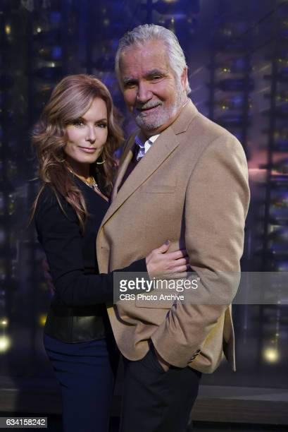 John McCook and Tracey Bregman on The Young and the Restless THE YOUNG THE YOUNG AND THE RESTLESS Airs Weekdays on the CBS Television Network