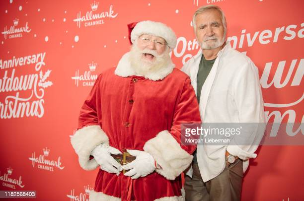 John McCook arrives at the Los Angeles special screening of Hallmark Channel's A Christmas Love Story at Montage Beverly Hills on October 21 2019 in...