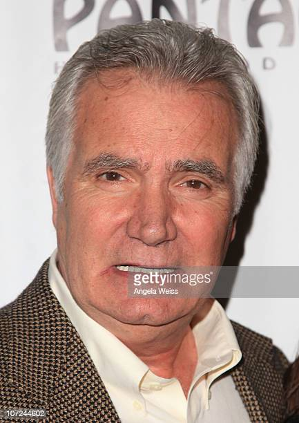 John McCook attends the opening night of 'West Side Story' at the Pantages Theatre on December 1 2010 in Hollywood California