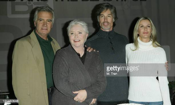 John McCook Susan Flannery Ronn Moss and Katherine Kelly Lang