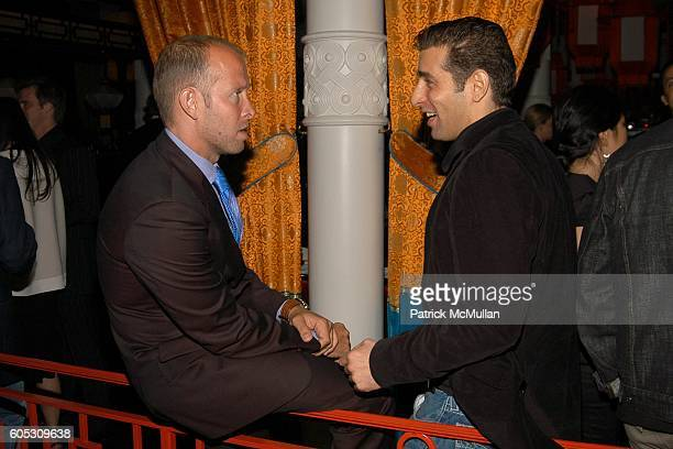 John McDonald and Jeffrey Jah attend ABY ROSEN Birthday Celebration at Chinatown Brasserie on May 15 2006 in New York City