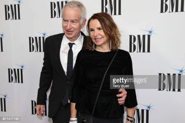 John McEnroe and Patty Smyth attend the 65th Annual BMI Country awards on November 7 2017 in Nashville Tennessee