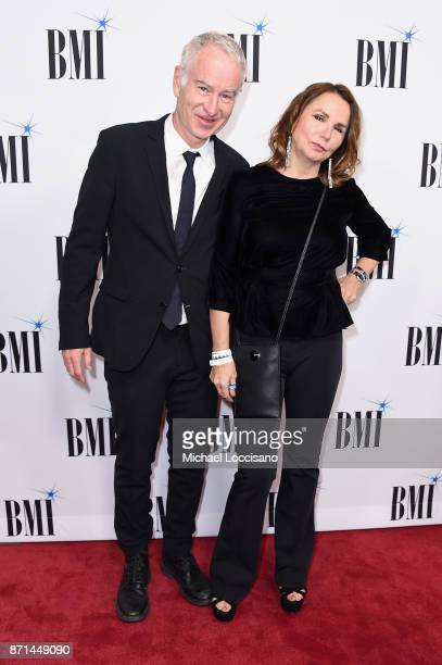 John McEnroe and Patty Smyth attends the 65th Annual BMI Country awards on November 7 2017 in Nashville Tennessee