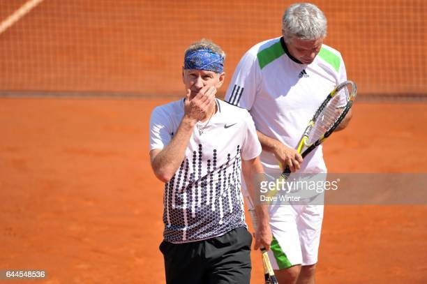 John McENROE/ Andres GOMEZ Tournoi des Legendes Roland Garros 2011 Paris Photo Dave Winter / Icon Sport
