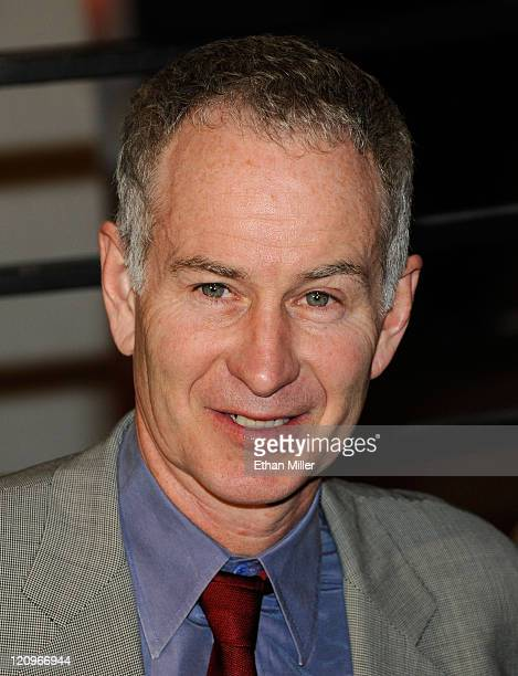 John McEnroe arrives at the 2010 Vanity Fair Oscar Party hosted by Graydon Carter held at Sunset Tower on March 7 2010 in West Hollywood California