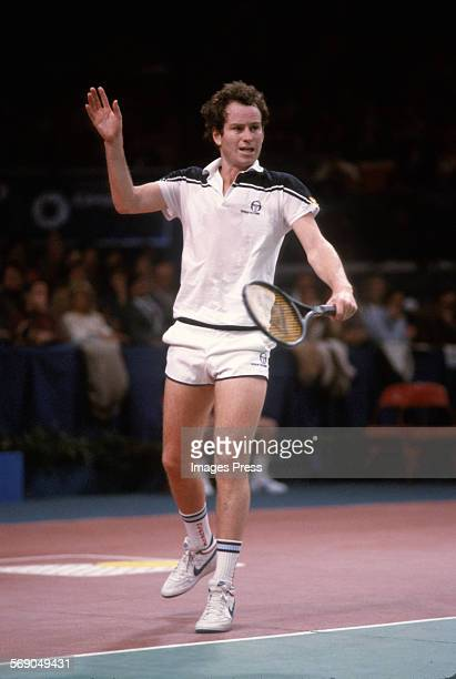 John McEnroe circa 1984 in New York City