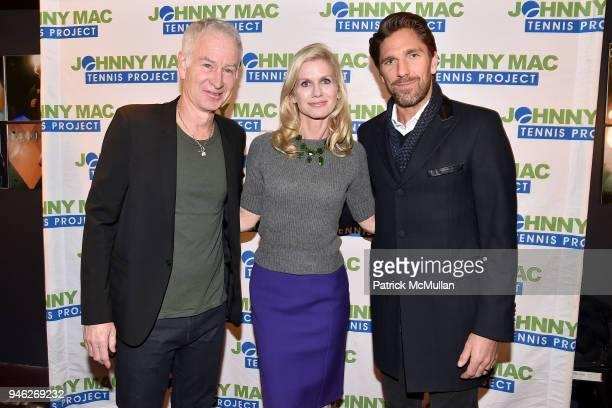 John McEnroe Jennifer Joyce and Henrik Lundqvist attend Stand Up For A Cause Johnny Mac Tennis Project Comedy Night at Carolines On Broadway on April...