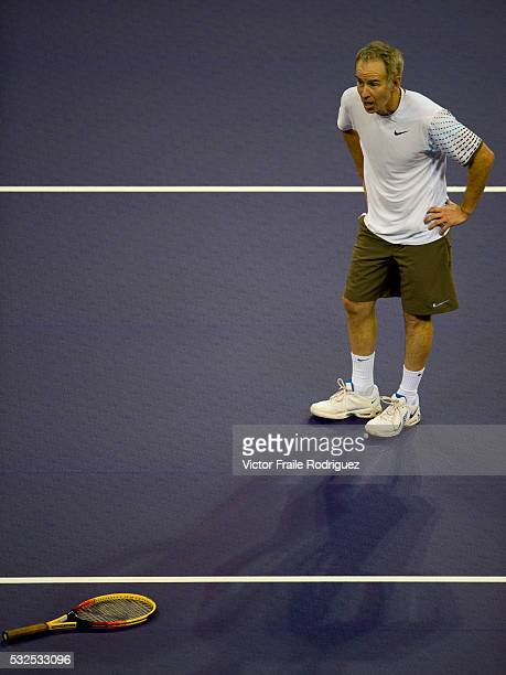 John McEnroe of the US during the Venetian Macao Tennis Showdown 2008 in Macao south China November 24 2008 Photo by Victor Fraile Image by © Victor...