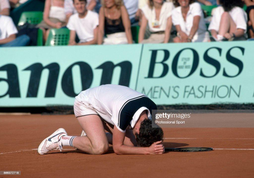 John McEnroe At 1984 French Open Championships : News Photo