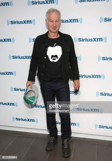 John McEnroe visits at SiriusXM Studios on June 27 2017 in New York City