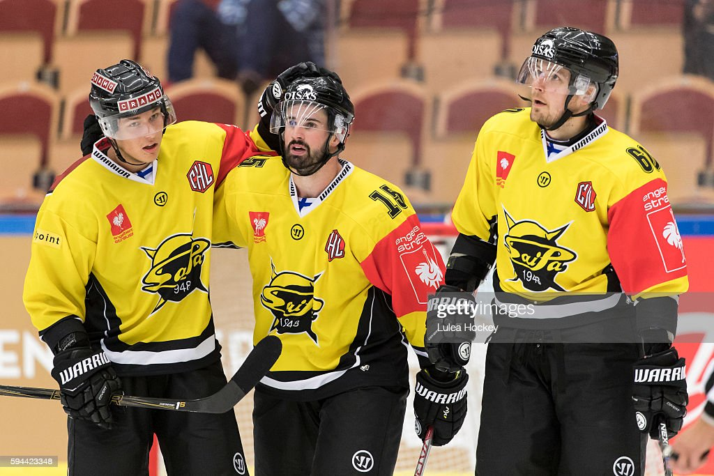 Lulea Hockey v SaiPa Lappeenranta - Champions Hockey League : News Photo