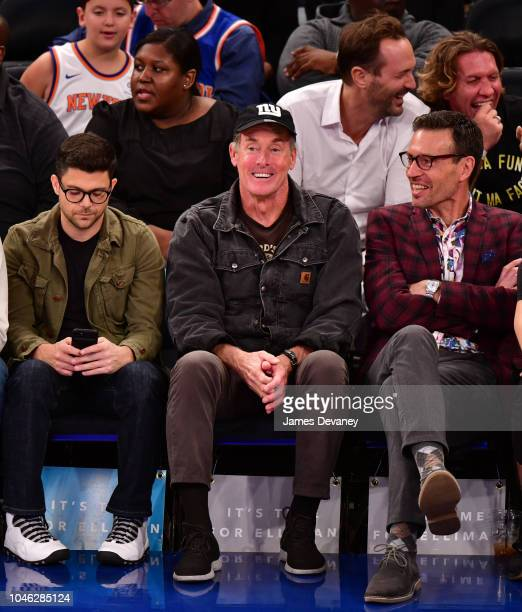John McGinley attends the New York Knicks Vs New Orleans Pelicans game at Madison Square Garden on October 5 2018 in New York City
