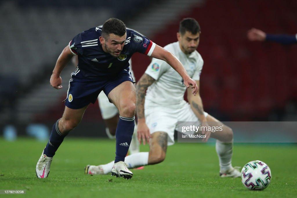 Scotland v Israel - UEFA EURO 2020 Play-Off Semi-Finals : News Photo