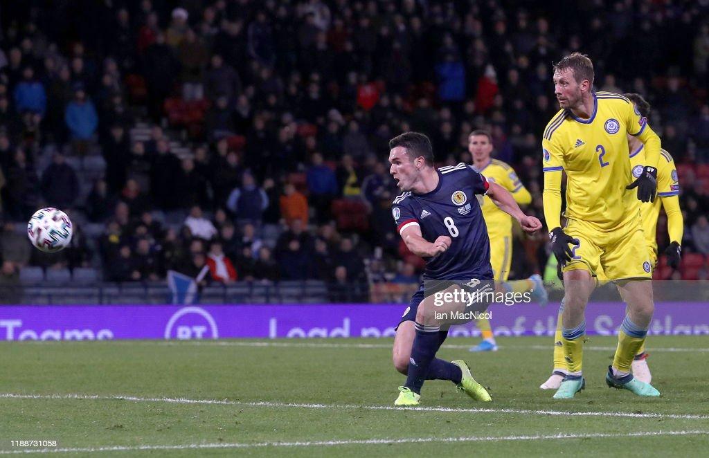 Scotland v Kazakhstan - UEFA Euro 2020 Qualifier : News Photo