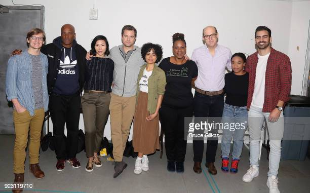 John McGinty Director Kenny Leon Julee Cerda Joshua Jackson Lauren Ridloff Kecia Lewis Anthony Edwards Threshelle Edmond and Producer Nyle DiMarco...