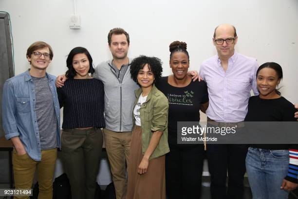 John McGinty Julee Cerda Joshua Jackson Lauren Ridloff Kecia Lewis Anthony Edwards and Threshelle Edmond attend the first rehearsal and cast photo...