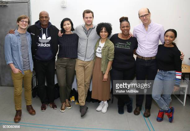 John McGinty Kenny Leon Julee Cerda Joshua Jackson Lauren Ridloff Kecia Lewis Anthony Edwards and Threshelle Edmond attend the cast photo call for...