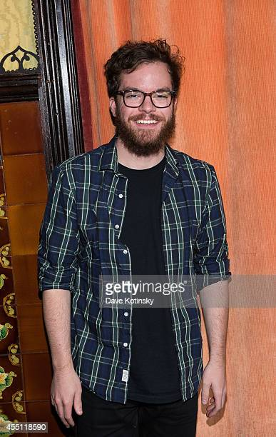 John McLaughlin attends the first Tumblr Fashion Honor presented to Rodarte at The Jane Hotel on September 9 2014 in New York United States