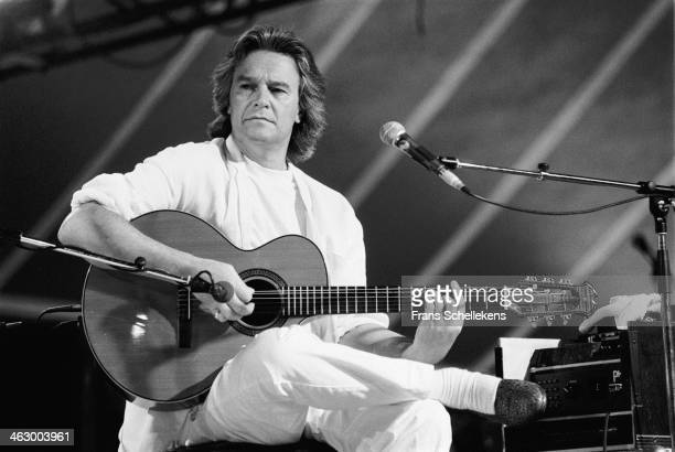 John McLaughlin, guitar, performs at the North Sea Jazz Festival in the Hague, the Netherlands on 14 July 1990.