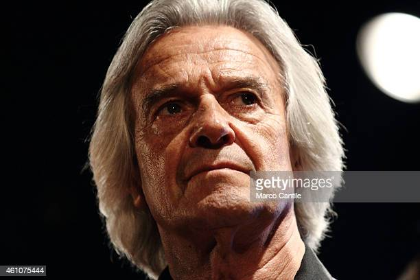 John McLaughlin performs live at the Teano Jazz Festival