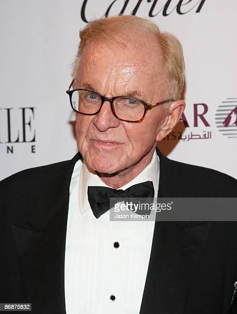 John McLaughlin walks the red carpet during the White House Correspondents' dinner after party hosted by Capitol File at Corcoran Gallery of Art on...