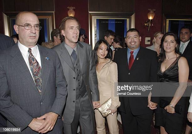 John McLoughlin Nicolas Cage Alice Kim William Jimeno and Allison Jimeno