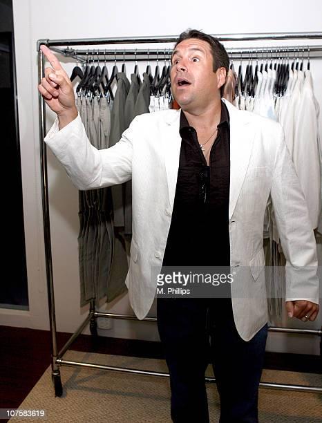John Melendez during GQ / Calvin Klein Celebrity Poker Tournament Benefiting Peace Games - Calvin Klein Gift Lounge at Private Residence in Los...