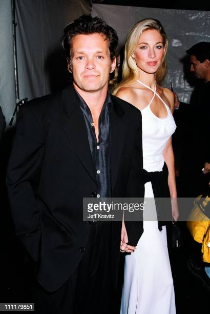 John Mellencamp and Elaine Irwin during 1996 City of Hope at Universal Studios Hollywood in Universal City California United States