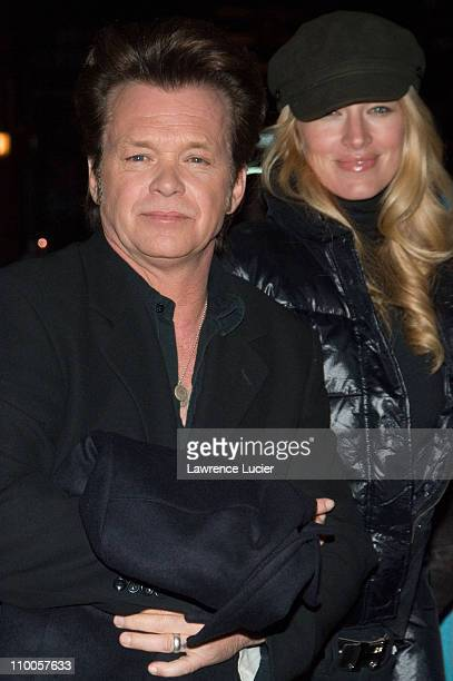John Mellencamp and Elaine Irwin during Kelly Ripa and John Mellencamp Outside Late Show with David Letterman February 7 2007 at Ed Sullivan Theater...