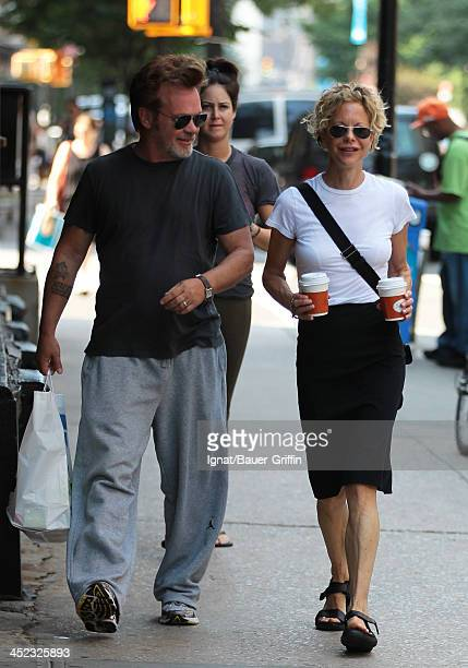 John Mellencamp and Meg Ryan are seen on June 24 2013 in New York City