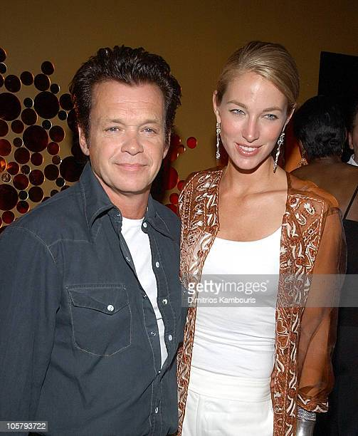 John Mellencamp and wife Elaine Irwin during John Mellencamp in Concert After Party in New York City New York United States