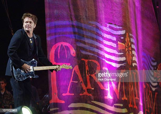 John Mellencamp during Farm Aid 2006 Presented by Silk Soymilk Concert at Tweeter Center at the Waterfront in Camden New Jersey United States