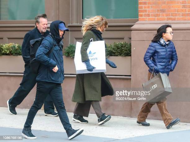 John Mellencamp Meg Ryan and Daisy Ryan are seen on January 22 2019 in New York City
